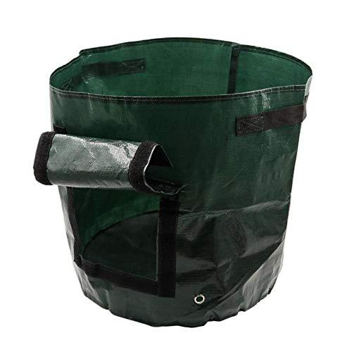 Best Deals! Yard Waste Bags 35CM45CM Organic Waste Kitchen Picnic Organizer Garden Planting Bag Clot...