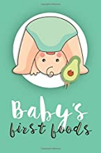 Baby first food: Baby`s foods journal | 6×9 | 120 pages