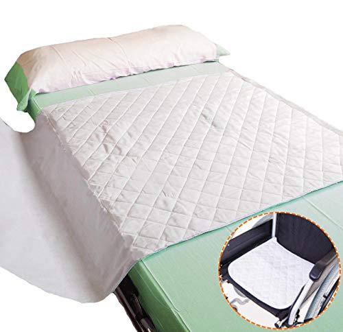 OrtoPrime Pack Travesero Empapador Cama y Travesero Empapador Silla de Ruedas - 4 Capas Material Ultra Absorbente 4.5 Litros - Más de 200 Lavados - Protector Cama y Silla Lavable