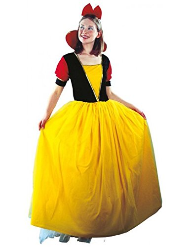 P'TIT Clown re86830 - Costume Princesse jaune, adulte