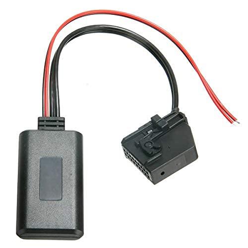 MASO - Adaptador USB Bluetooth para coche, interfaz de música MP3 y AUX