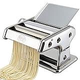 Machine à pâtes en acier inoxydable avec manivelle - Machine multifonctionnelle de pressage de pâtes à deux couteaux pour la maison