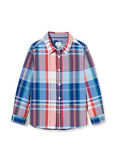 Pepe Jeans Jungen Hemd Nigel, Mehrfarbig (Multi 0aa), 2-3 Jahre (Herstellergröße: 2)
