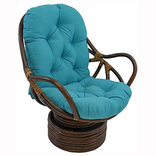 ZWPY Cojines para sillas, Cojines de Tatami para tumbonas, Cojines para Almohadas, Cojines para Asiento, cojín Largo para Exteriores, sofá de ratán, Juego de Muebles de jardín y Patio