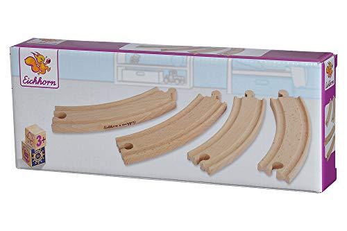 Eichhorn - 100001412 - Grandes rails courbes - 4 pièces