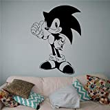 ASFGA Cartoon Anime Cute Little Hedgehog el Mejor Gesto habitación Infantil 85x117cm
