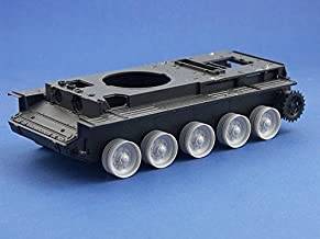 Armorscale 1:35 Burnt Out Wheels for British Tank