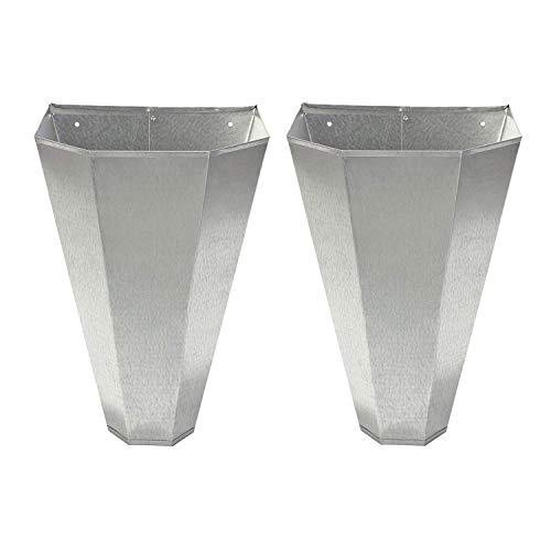 Little Giant RC2 Galvanized Steel Medium Poultry Restraining Cone, (2 Pack)