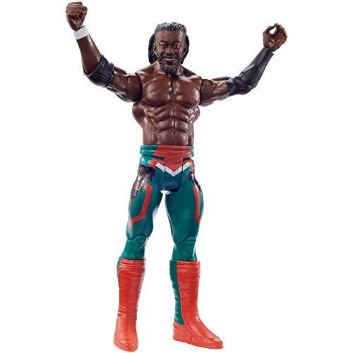 WWE Figura de Acción Luchador Kofi Kingston (Mattel GKR87)