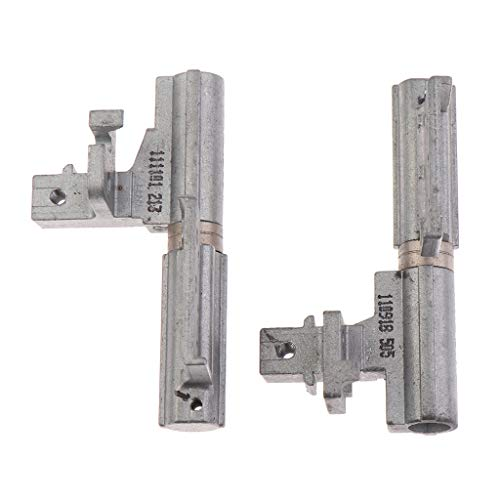 Price comparison product image H HILABEE Laptop Left & Right LCD Hinges for HP EliteBook 8560P,  Great Replacement Part to Replace your Damaged