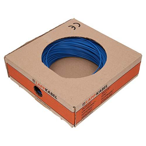 10 Meter Lapp 4520025 PVC Einzelader H07V-K 10 mm² blau