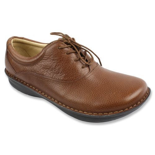 Alegria by PG Lite Men's Spock,Cognac Pull Up Leather,EU 43 M
