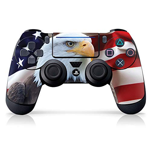 Controller Gear Authentic and Officially Licensed PS4 Controller Skin 'Bald Eagle #2' (PlayStation 4 Controller Sold Separately) - PlayStation 4