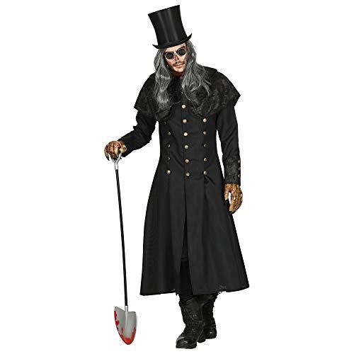 WIDMANN Disfraz de bruja, color negro, extra-large/xx-large (01594)