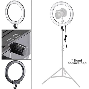 Flashpoint Cold Shoe Extension//Smartphone Cradle Set for The 600W 5500K Dimmable Fluorescent Ring Light