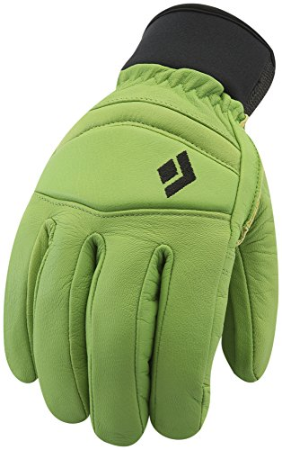 Black Diamond Spark Gloves Cold Weather Gloves, Lime Green, X-Large