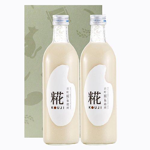 甘酒「糀ドリンク」詰め合わせ糀(プレーン)500ml×2本入りセット