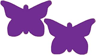 Pastease Nipple Pasties Butterfly Sticker Covers in Purple