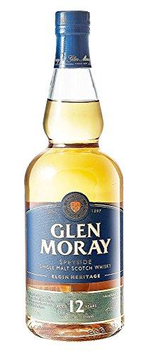 Glen Moray 12 Years Single Malt Whisky, 700 ml
