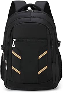 Fmdagoummzibeib Backpack, Travel, Can Hold 15.6-inch Laptop, Business Trip, Business, Oxford Cloth Business Backpack ,Wate...