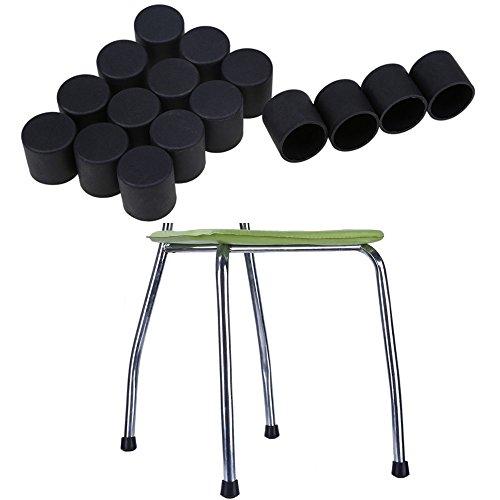 Protection pied de chaise Pour prot/éger efficacement parquets et autres sols d/élicats HaftPlus Patin chaise meuble en feutre Lot de 18 patins glisseurs /Ø 28 mm adh/ésifs