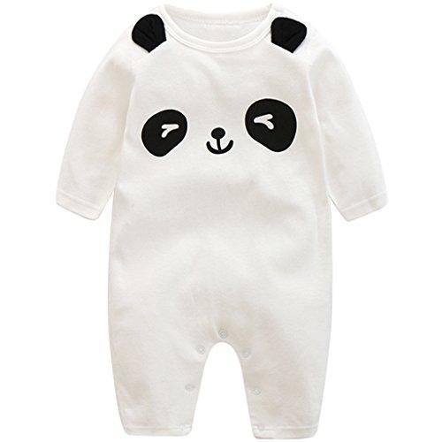 Recién Nacido Pijama Bebés Algodón Mameluco Niñas Niños Peleles Sleepsuit Caricatura Trajes