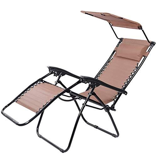 Terrasse Freizeit Sonnenliegen Home Outdoor/Patio Stühle Sonnenliegen im Garten im Freien Schwerelosigkeit Liegestuhl Liegestuhl Outdoor Klappbarer tragbarer Schaukelstuhl mit Kissen Geträ