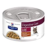 Hill's Prescription Diet Feline i/d Digestive Care Stew - Chicken 12 X 82g Dietetic Wet Food For Adult Cats With Balanced Fibre Content And Enriched In Electrolytes And Antioxidants