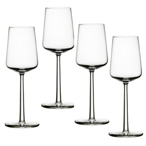 Iittala 1009140 Weißweingläser-Set Essence 4-teilig 0,33 L