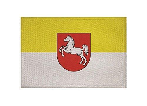 U24 Aufnäher Hannover 1952 Fahne Flagge Aufbügler Patch 9 x 6 cm