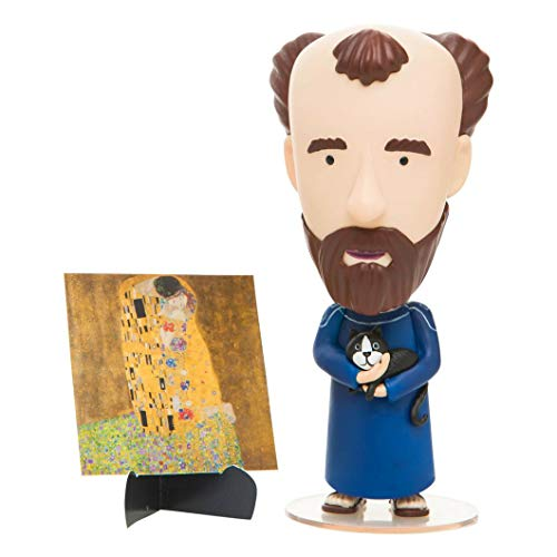 Today Is Art Day - Famous Painters and Artists Action Figure Dolls - Klimt - PVC - 5'H x 3'L x 3'W Inches