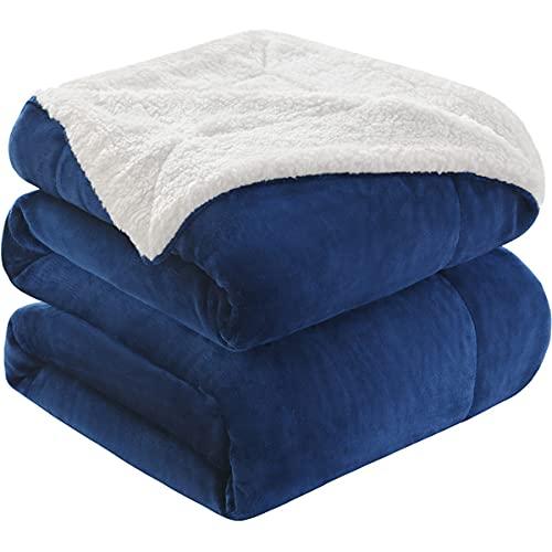 KAWAHOME Sherpa Fleece Blanket Super Soft Extra...