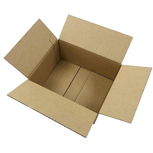 60サイズ ダンボール 日本製 段ボール箱 (25×19×11.5cm) 宅配 梱包 引っ越し (30枚)