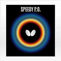 BUTTERFLY (バタフライ) スピーディーP.O. (278) 00260 2002 卓球 ラバー 278.ブラック アツ