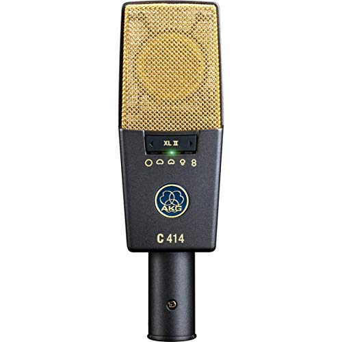 Microphone électrostatique vocal AKG C414 XLII