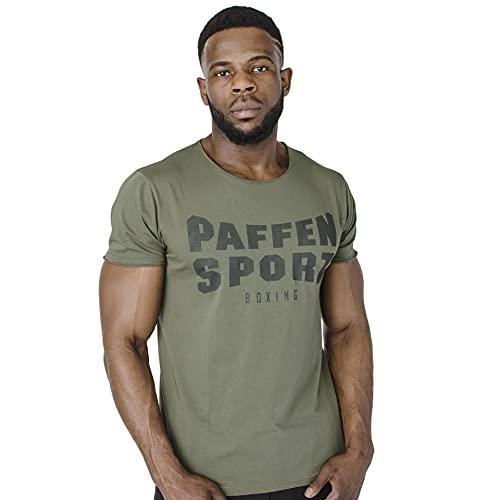 PAFFEN SPORT «Military» T-Shirt; Oliv;Größe: M