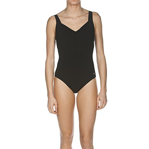 Arena W One Piece Low C Cup Bañador Bodylift Mujer, Negro, 48