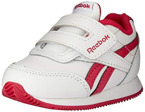 Reebok Royal CLJOG 2 KC, Zapatillas de Deporte para Niñas, Multicolor (White/Rugged Rose...