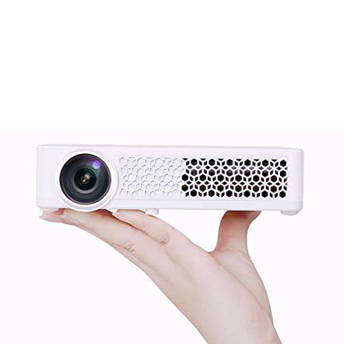 Smart WIFI Projector, Full HD 1080p ondersteuning met spreker, Connect with Tablet en Laptop, compatibel met HDMI VGA AV USB SD, Perfect voor home theater, Business PPT, Games