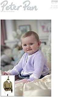 Peter Pan Baby Cardigan Knitting Pattern 998 DK