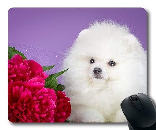 Tappetini per Mouse da Gioco, Cucciolo di Cane Amante dei Cani, Cucitura di precisione, Tappetino per Mouse Resistente
