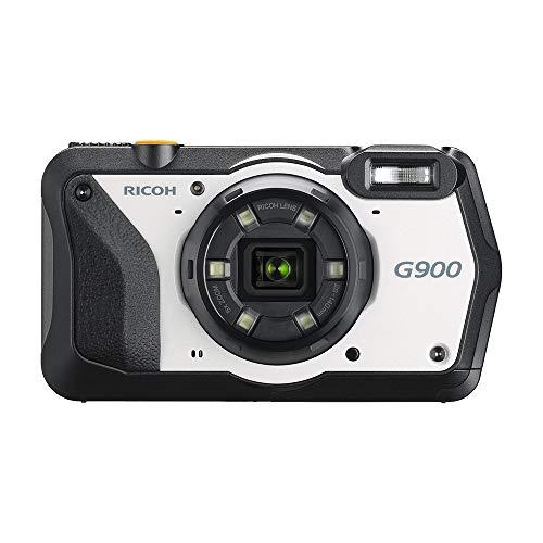 RICOH G900 Industrial Digitalkamera Lösungskamera Hochauflösende Bilder mit 20MP Optischer 5-fach Zoom 3-Zoll LCD Kamera-Memos Integrierter GPS-Passwortschutz Wasserdicht bis 20m Chemische Beständig