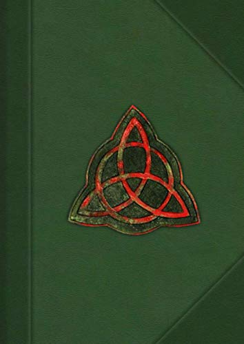 CHARM BOOK OF SHADOWS: NOTEBOOK   DIARY   JOURNAL   PROP   OLD PAGES INTERIOR   HALLOWEEN GIFT !!!