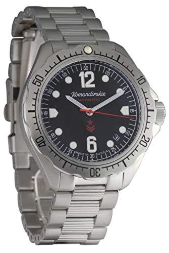 Vostok Komandirskie K-34 Auto - Reloj de Pulsera para Hombre