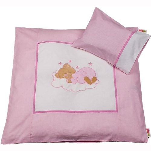 Saco de juego de cama de/Bear cambiador funda rosa rosa