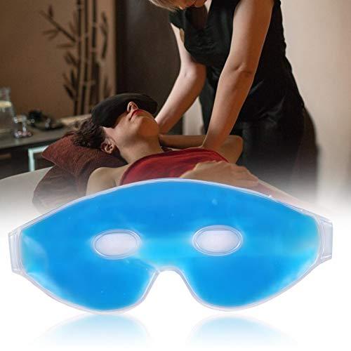 Jacksing Mascarillas Reutilizables para los Ojos, Gel con tecnología de enfriamiento con Bolsa de Hielo Mascarilla para Ojos con Hielo, Terapia Ocular para Viajar Relajante