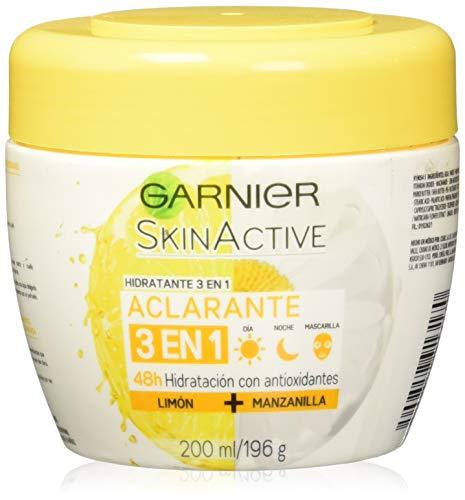 Garnier Skin Naturals Face Crema Facial Aclarante, 200 g/ 196 g