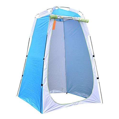 Tienda de campaña portátil Portátil Privacidad Ducha Aseo Camping Pop Pop Up Tent Vendaje al Aire Libre Tienda de campaña Pesca Pesca Viajes de Senderismo (Color : Blue)