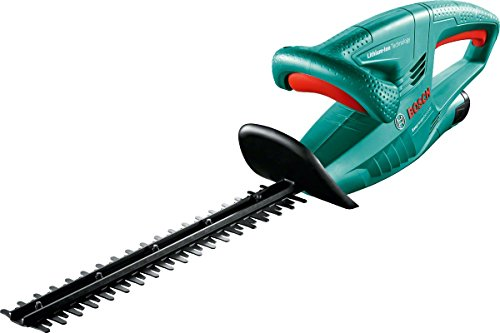 Bosch 0600849B72 EasyHedgeCut 12-35 Cordless Hedge Cutter with 12 V Lithium-Ion Battery, 350 mm Blade Length, 15 mm Tooth Opening, Green