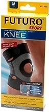 Futuro Sport Moisture Control Knee Support Medium Black (Pack of 2)